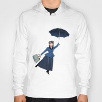 mary poppins Hoodies featuring Mary Poppins by Vannina
