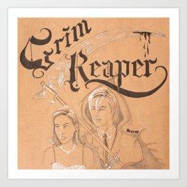 Love of The Reaper Art Print