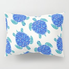 Sea Turtle – Blue Palette Pillow Sham