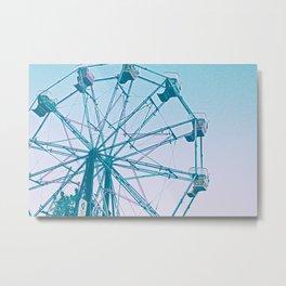 Ferris Wheel's Day Off Metal Print