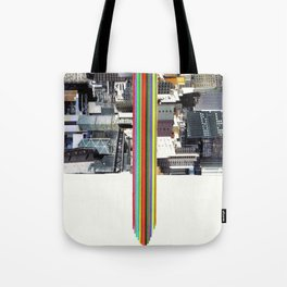 The Invisible Cities (dedicated to Italo Calvino) Tote Bag