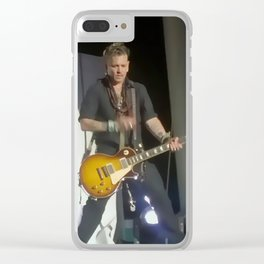 Johnny Depp Hollywood Vampires Clear iPhone Case