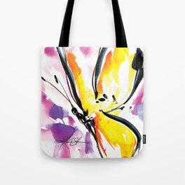 Butterfly Song No. 50 by Kathy Morton Stanion Tote Bag