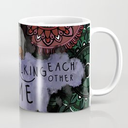 Walking Each Other Home Coffee Mug