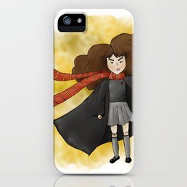 Fearless Hermione iPhone Case