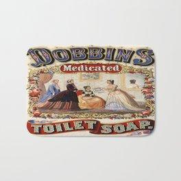 Vintage poster - Dobbins Medicated Toilet Soap Bath Mat
