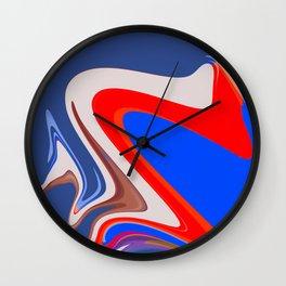 fusion color Wall Clock