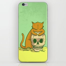 Kitty Hugs iPhone Skin
