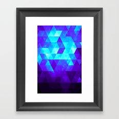 Glitteresques III Framed Art Print