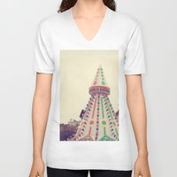 carnival V-neck T-shirts featuring Carnival by J Butterfield Photography
