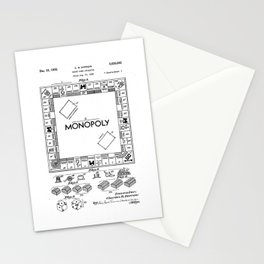 Monopoly Patent drawing Stationery Cards
