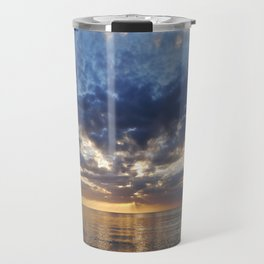 Sunset Over Clearwater Beach Travel Mug