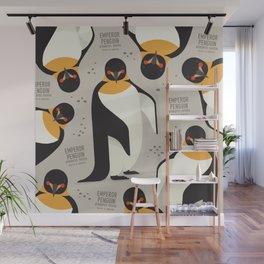 Emperor Penguin, Antarctica Wildlife Wall Mural