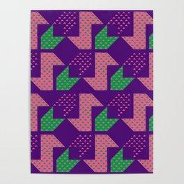 Clover&Nessie_Lavender&Mauve Poster