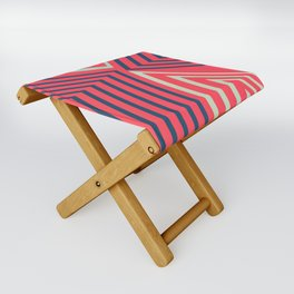Geometric Design No1 Folding Stool