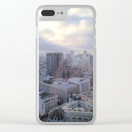 Looking Through Glass Clear iPhone Case