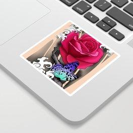 Rose Tattoo Sticker