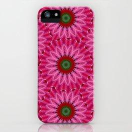 Retro Pink Daisy iPhone Case