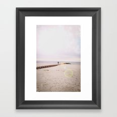 The Arms of the Ocean Deliver Me Framed Art Print