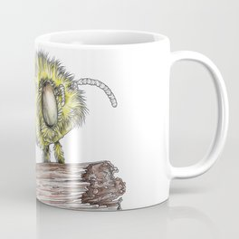 The Fluffy Bee Coffee Mug