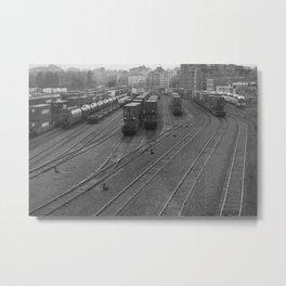 Railyard Metal Print