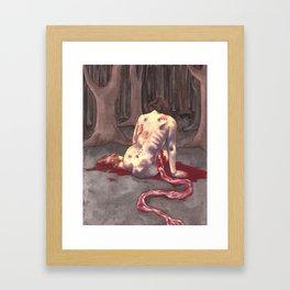 Spine Song Framed Art Print