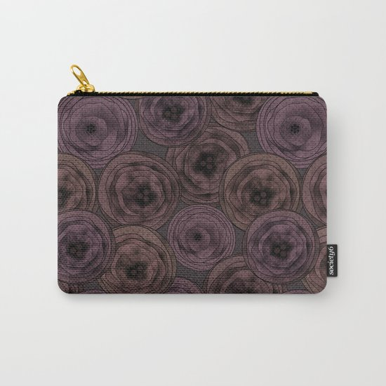 Chocolate velvet . Carry-All Pouch