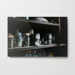 Vintage Pantry & Spices II Metal Print