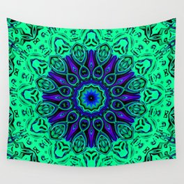 Star Flower of Symmetry 665 Wall Tapestry