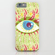 Front Looking Psychedelic Eye Slim Case iPhone 6s