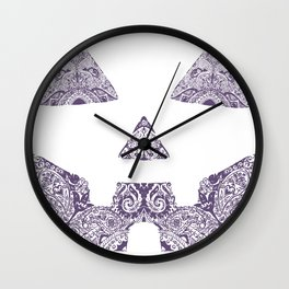 Pumpkin Artwork Wall Clock