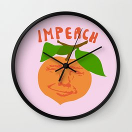 Impeach Trump Wall Clock