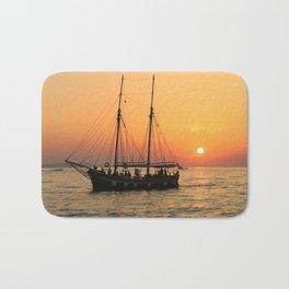 pirat boat Bath Mat