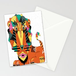 Bauhaus Lion Stationery Cards