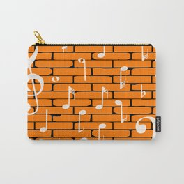 Music Wall Background Carry-All Pouch