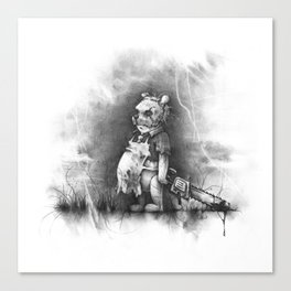 The Pooh Canvas Print