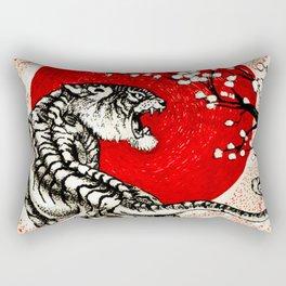 Japan Tiger Rectangular Pillow