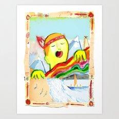 Sing! Art Print
