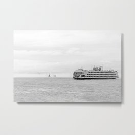 Ferry & Kate's Light Metal Print