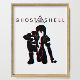 ghost in the shell Serving Tray