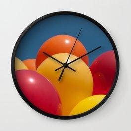 Balloon Brilliance Wall Clock