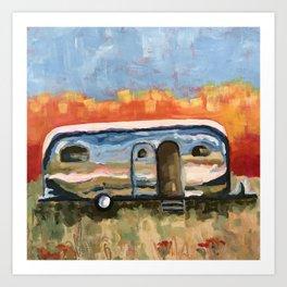 Baja Airstream Art Print