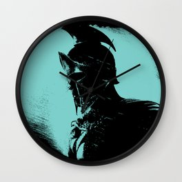 Once were Spartans Wall Clock