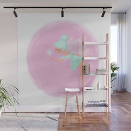 Mint Fairy Wall Mural