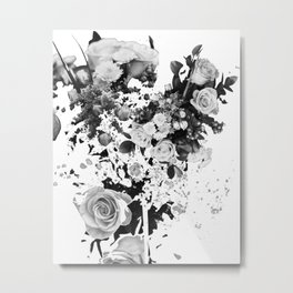 Exploded Frailty Metal Print