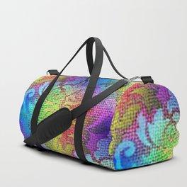 Damask Tapestry Pattern II Duffle Bag