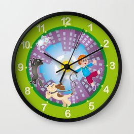 Kid's clock Wall Clock