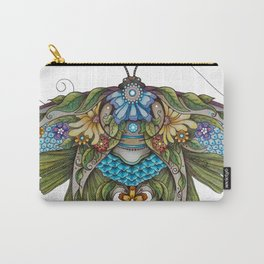 Botanical Butterfly No. 1 Carry-All Pouch