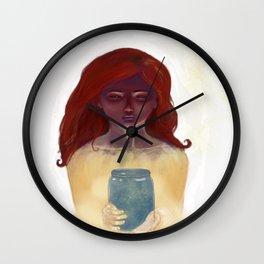 Made From Starlight Wall Clock