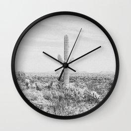 DESERT VIII / Phoenix, Arizona Wall Clock